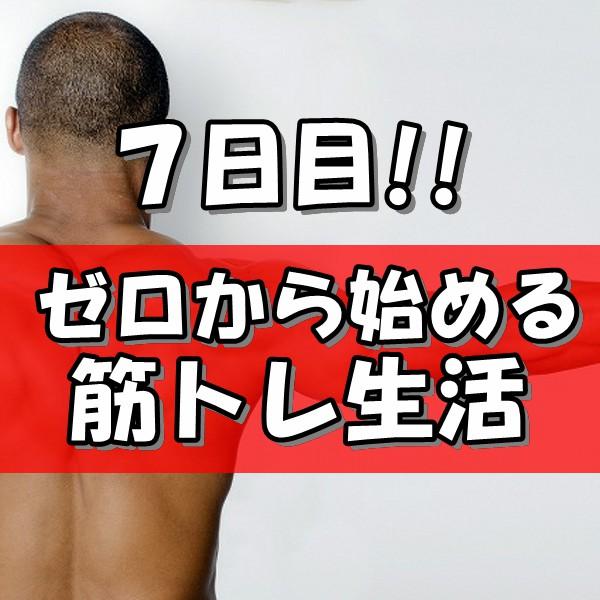 筋トレ1週目600